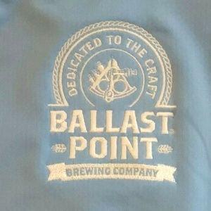 Ballast Point Brewing Co Blue Shirt Men's Columbia